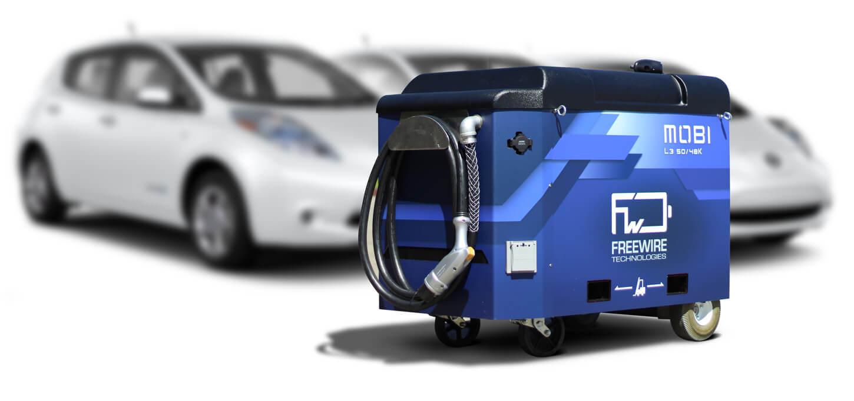 Мобильная зарядка для электромобилей Mobi от FreeWire