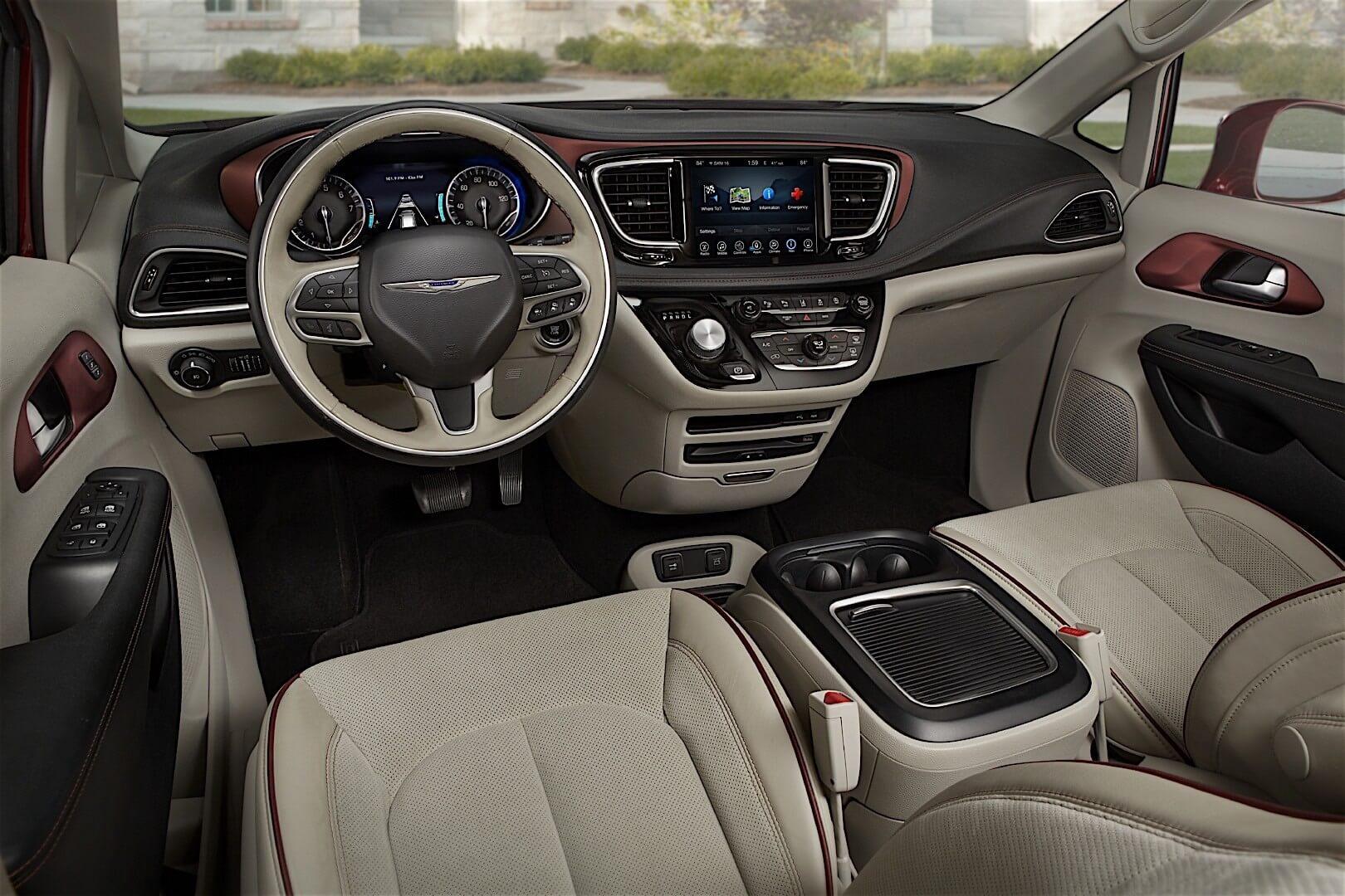 Фотография экоавто Chrysler Pacifica Hybrid - фото 14