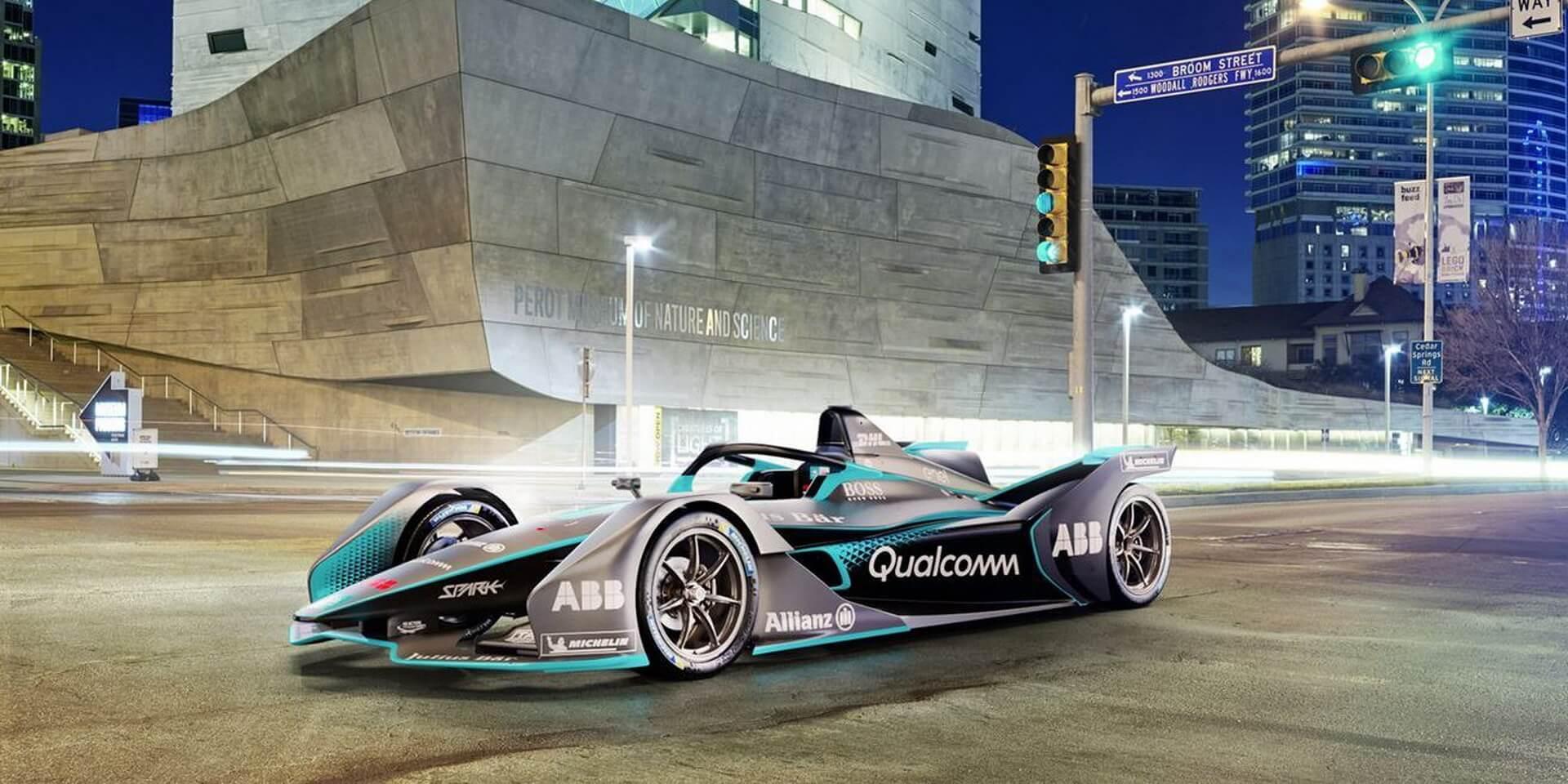 Гоночный электроболид Формулы Е