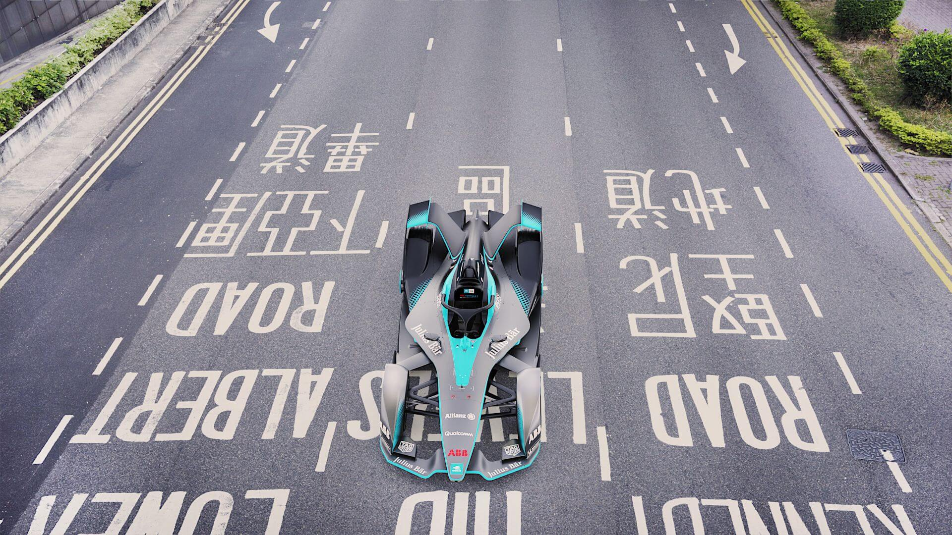 Гоночный болид Formula Eвторого поколения