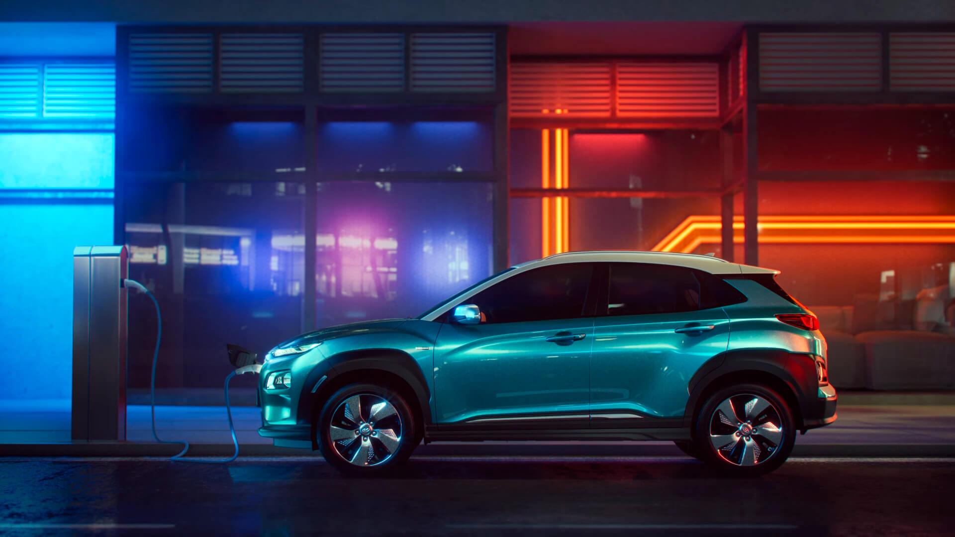 Зарядка Hyundai Kona Electric