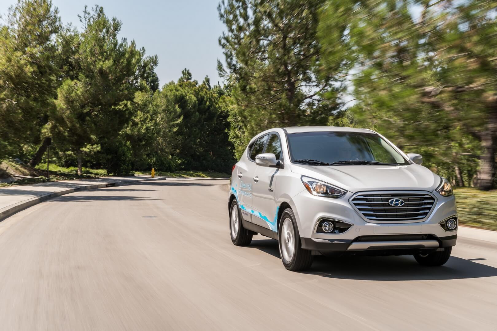 Фотография экоавто Hyundai Tucson/ix35 FCEV - фото 14