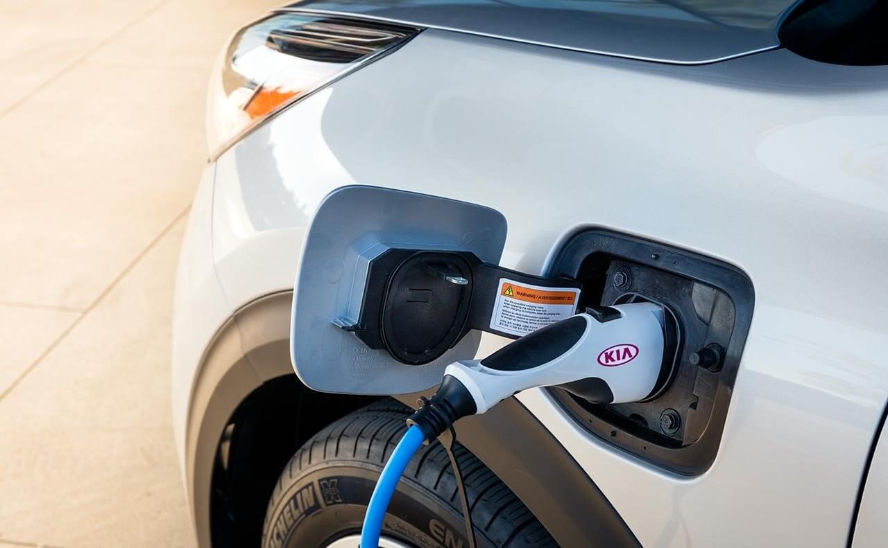 Зарядный порт Kia Niro Plug-in Hybrid