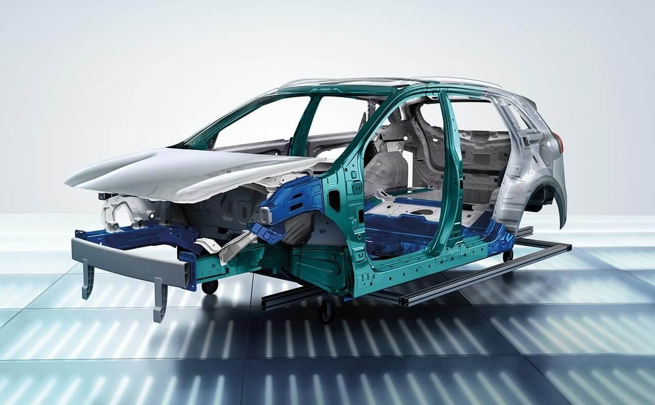 Кузовная рама Kia Niro Plug-in Hybrid