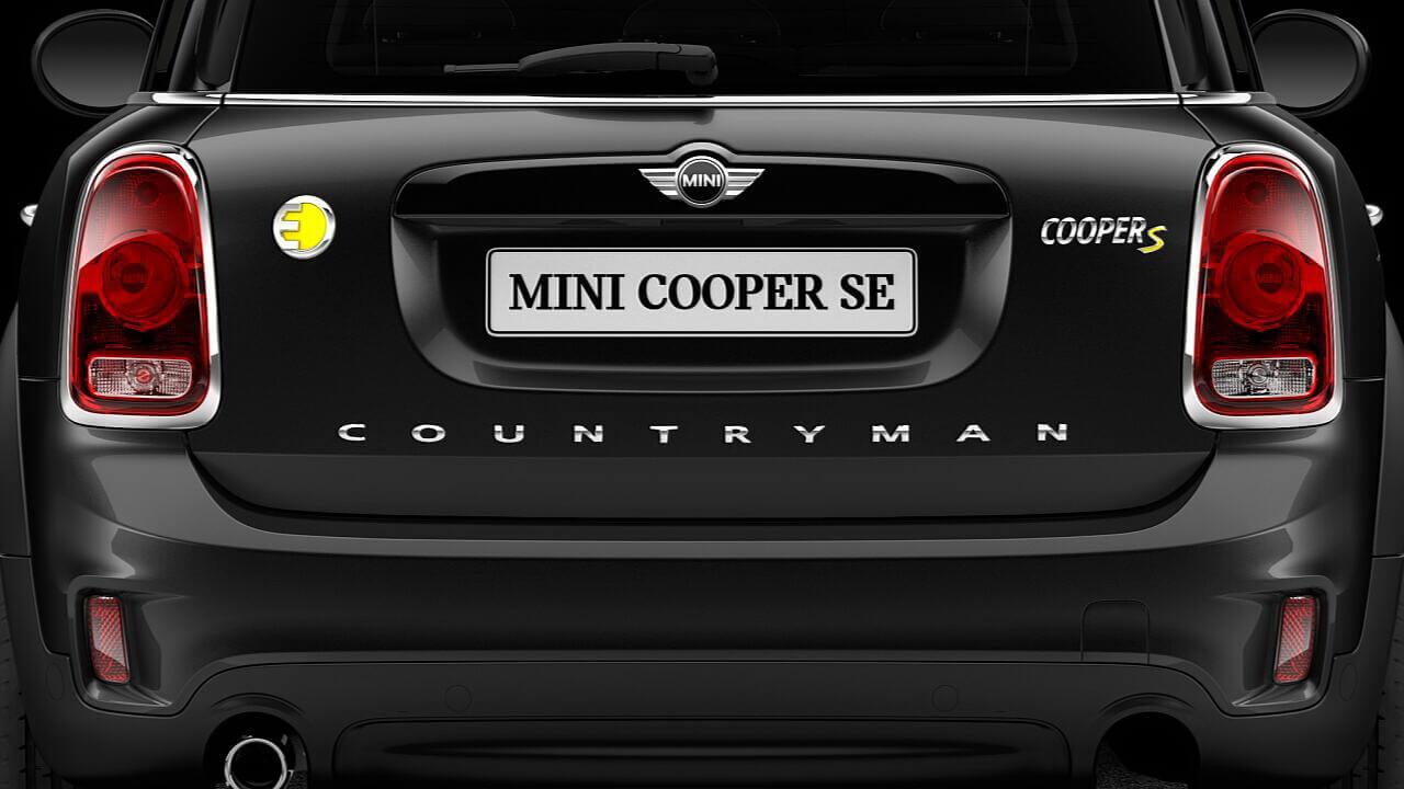 ЭкстерьерMini Cooper SECountryman ALL4 — виз сзади