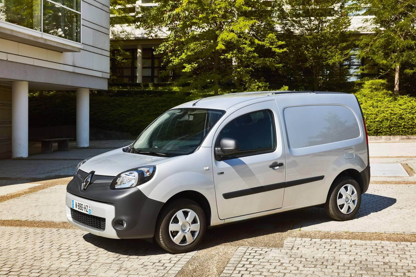 Фургон Renault Kangoo Z.E. — лидер коммерческих электромобилей