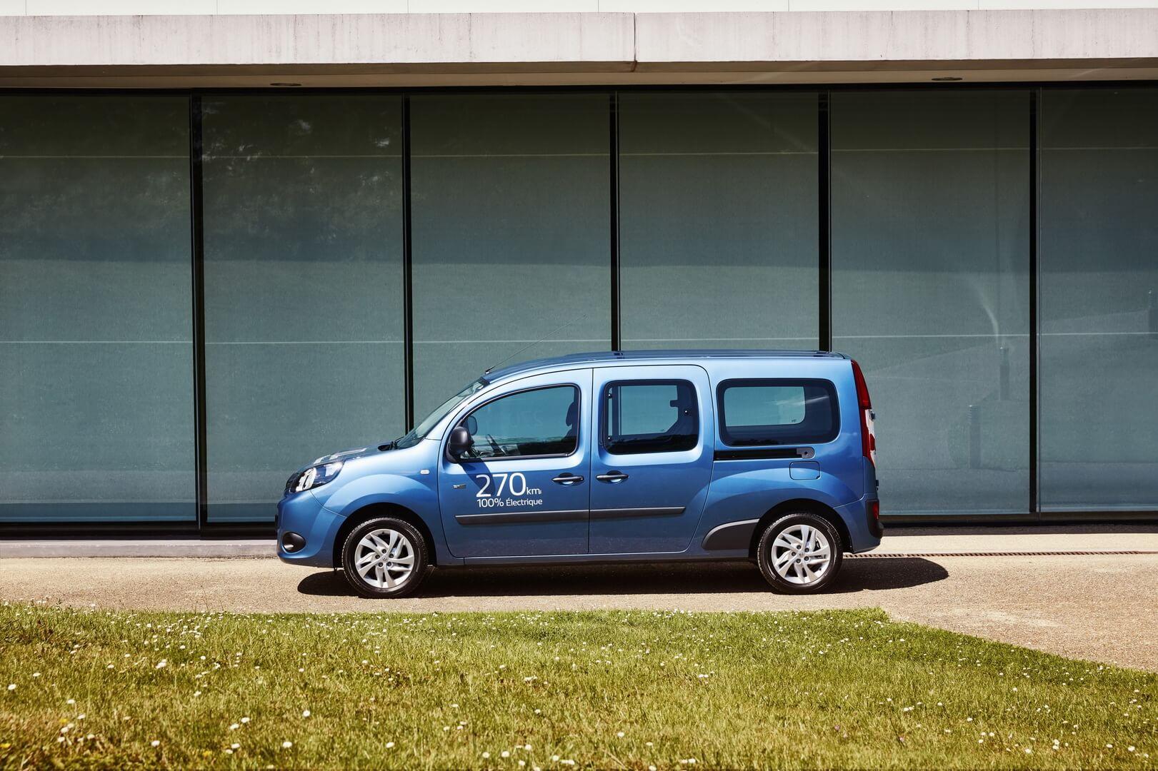 Фотография экоавто Renault Kangoo Z.E. 2017 - фото 21