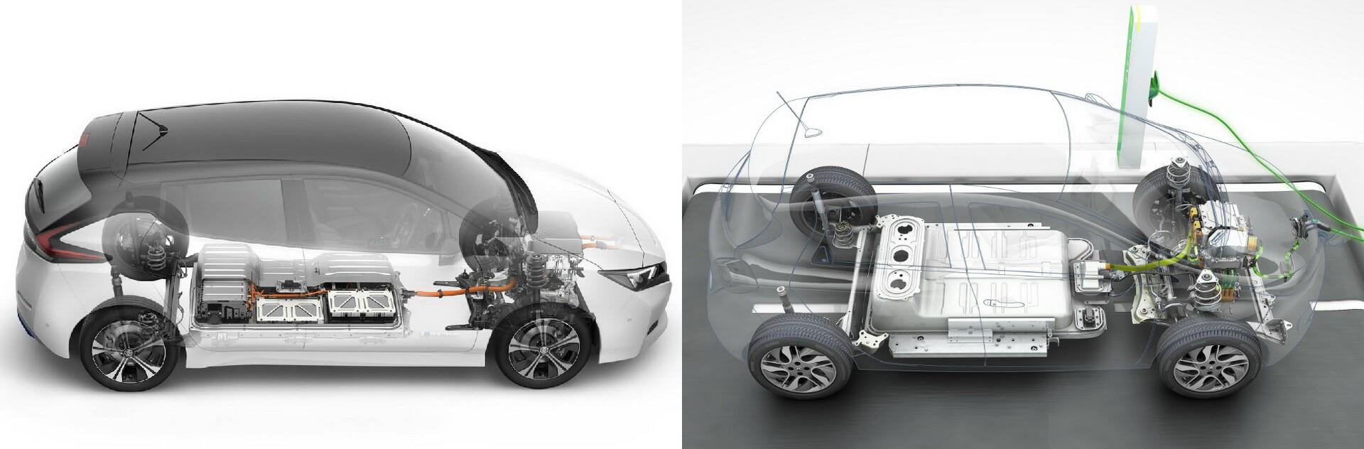 Трансмиссия Nissan Leaf иRenault ZOE