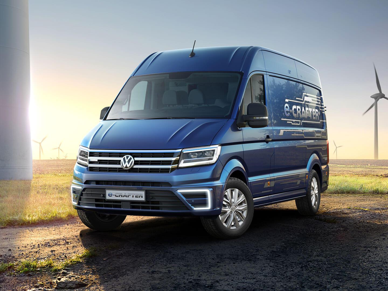 Фотография экоавто Volkswagen e-Crafter - фото 6