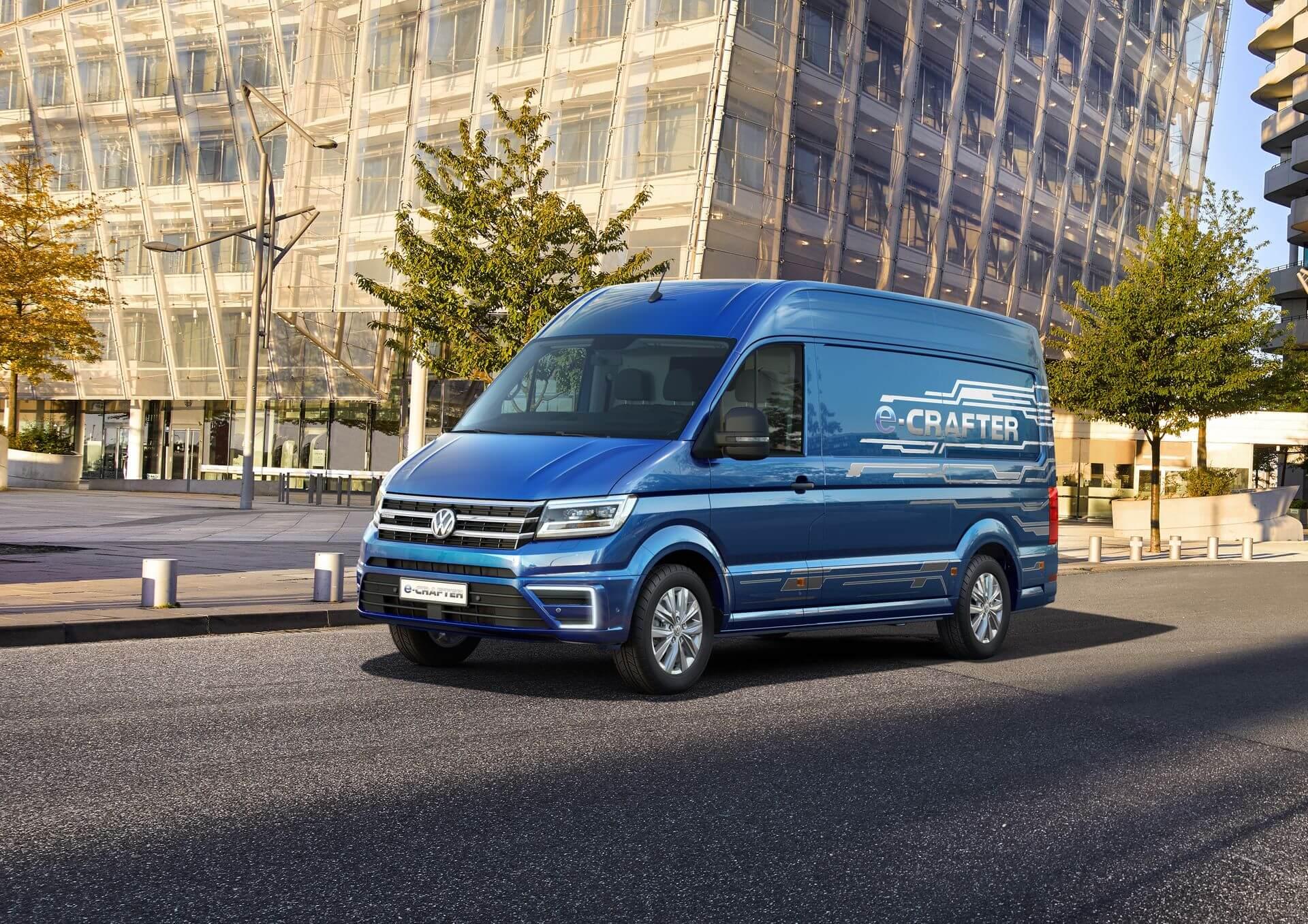 Фотография экоавто Volkswagen e-Crafter - фото 2
