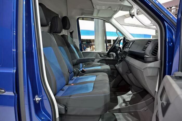 Салон Volkswagen e-Crafter