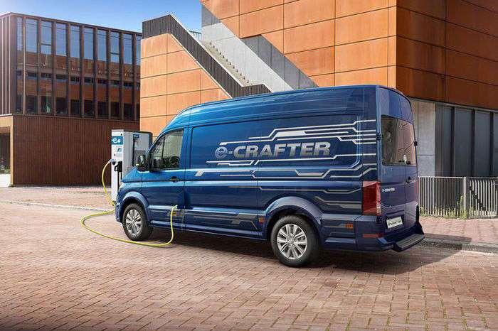 Электрический фургон Volkswagen e-Crafter