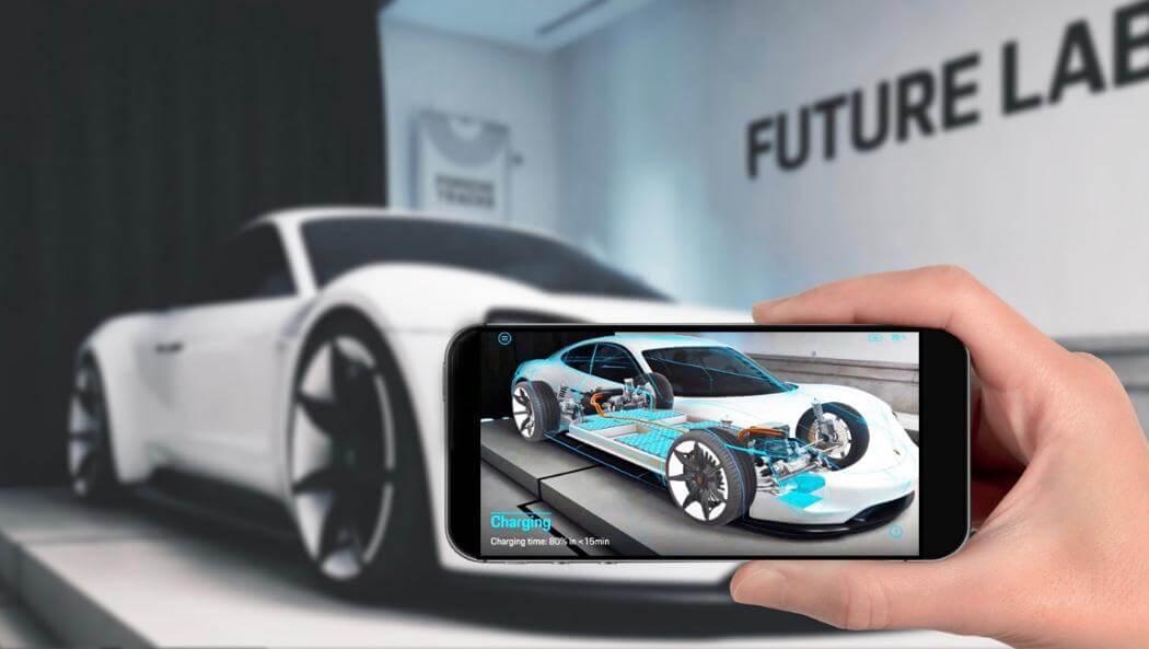 Приложение Mission E Augmented Reality
