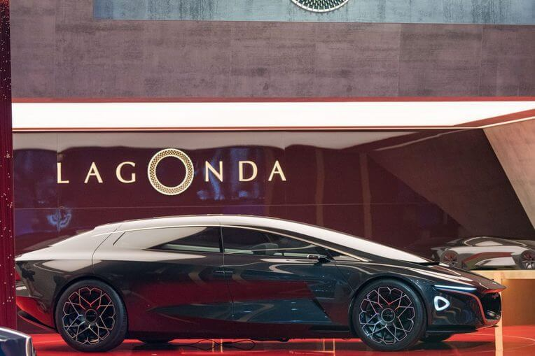 Концепт Lagonda Vision от Aston Martin