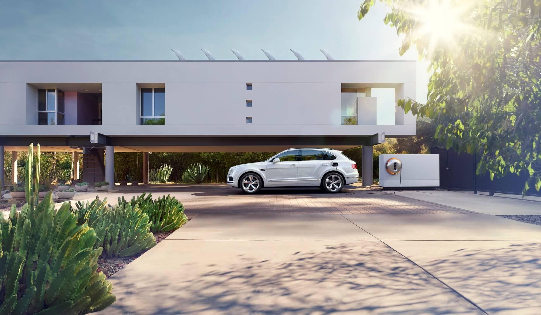 Фотография экоавто Bentley Bentayga Hybrid - фото 9