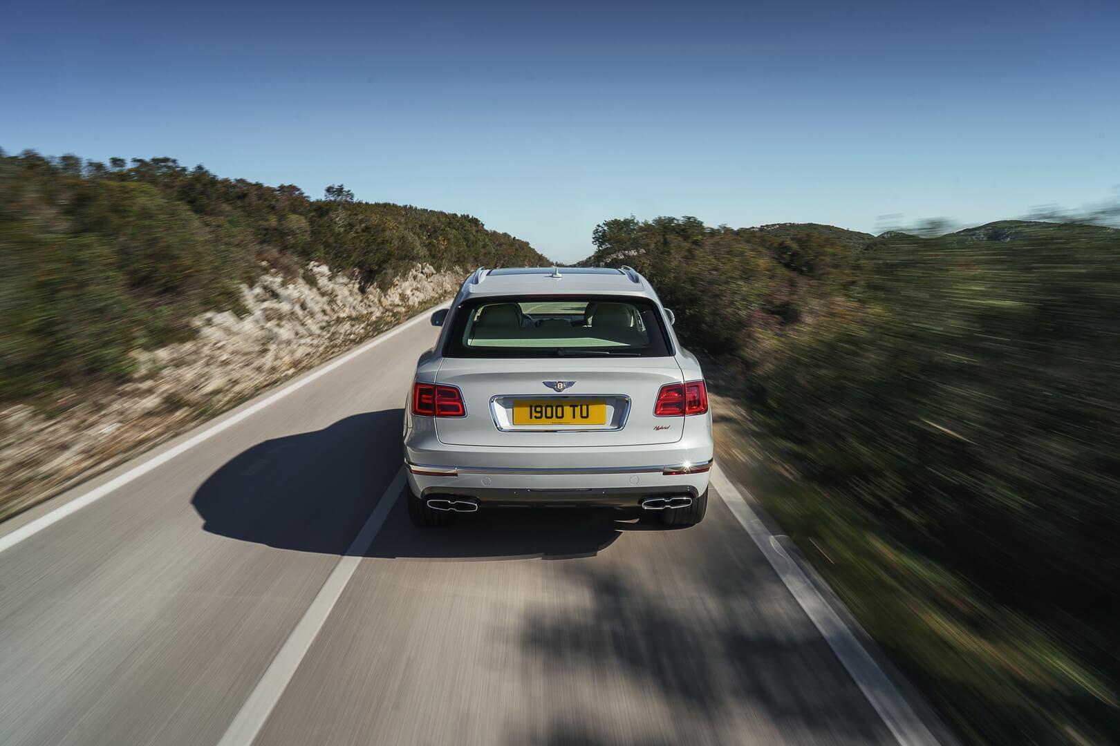 Фотография экоавто Bentley Bentayga Hybrid - фото 8
