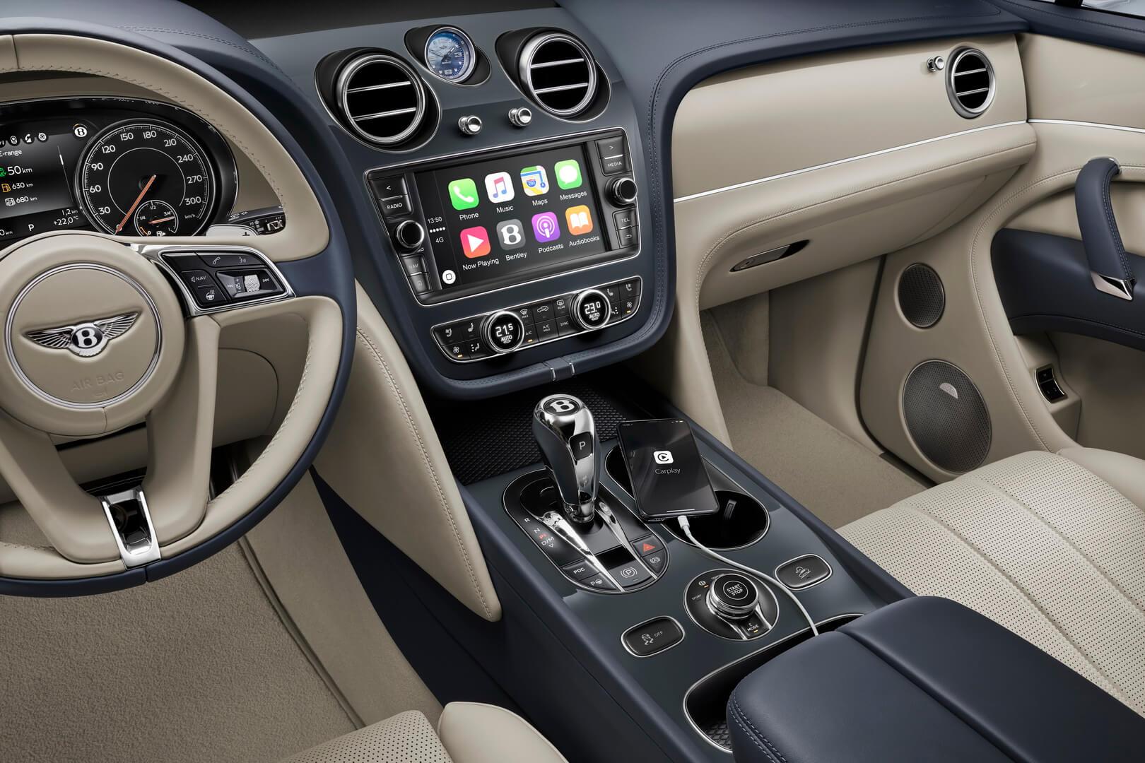 Салон Bentley Bentayga Hybrid