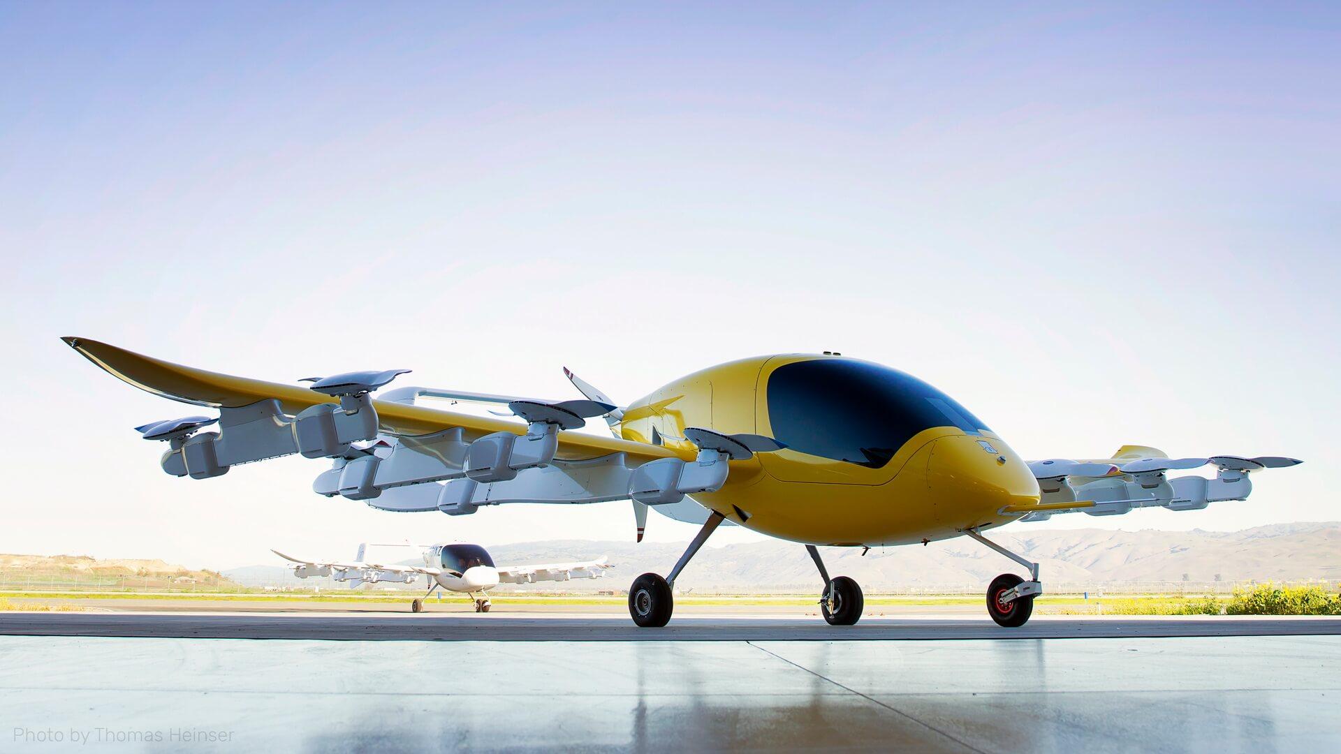 Беспилотное воздушное такси Cora