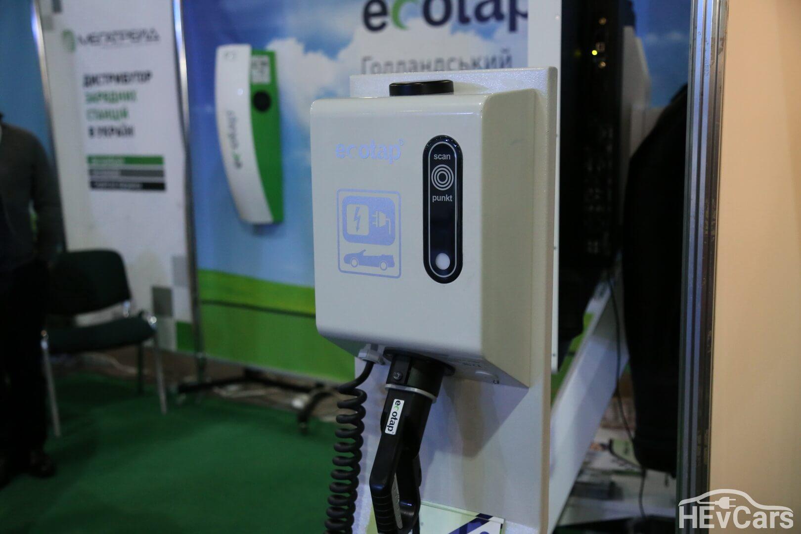 Зарядные станции Ecotap