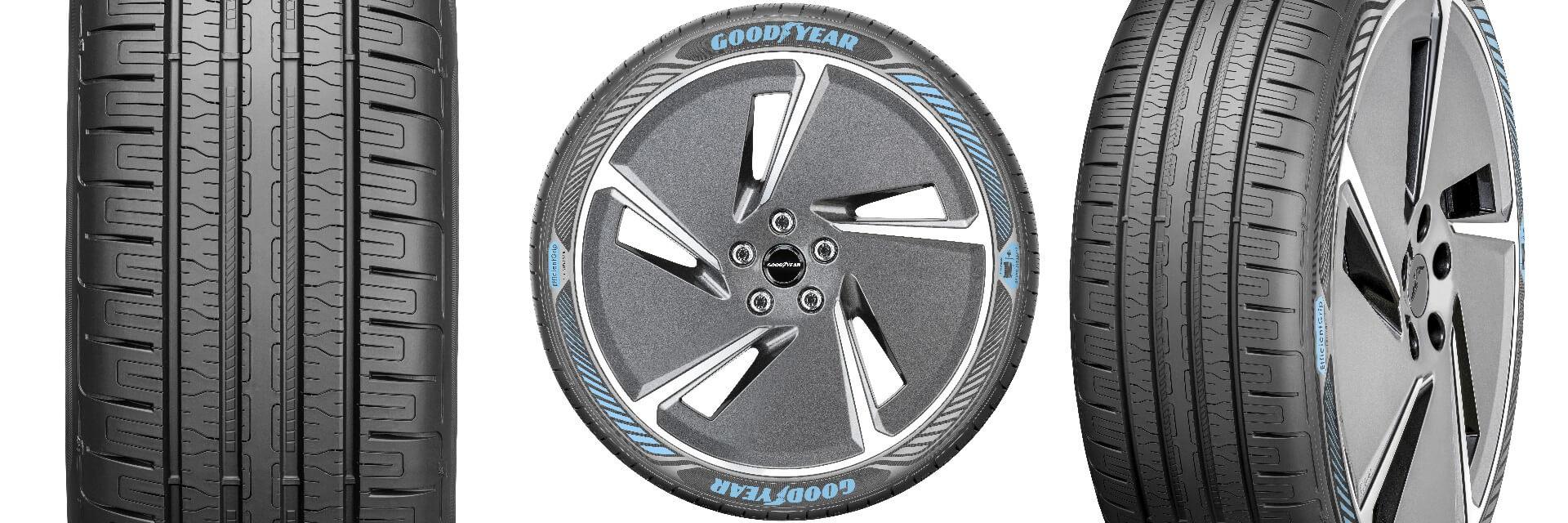 Прототип шин Goodyear EfficientGrip Performance с технологией Electric Drive