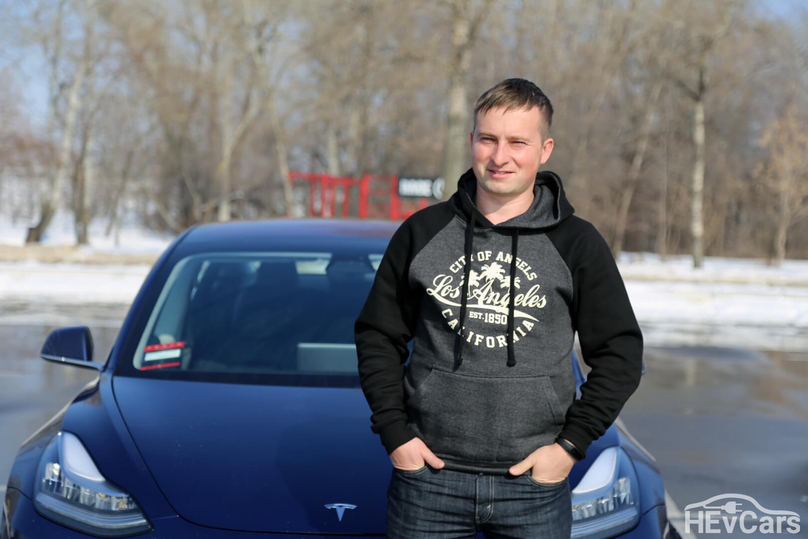 CEO «Electrocars» Александр Кравцов
