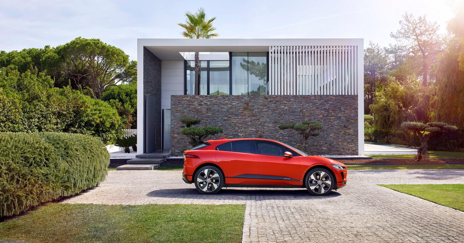 Электромобиль Jaguar I-Pace