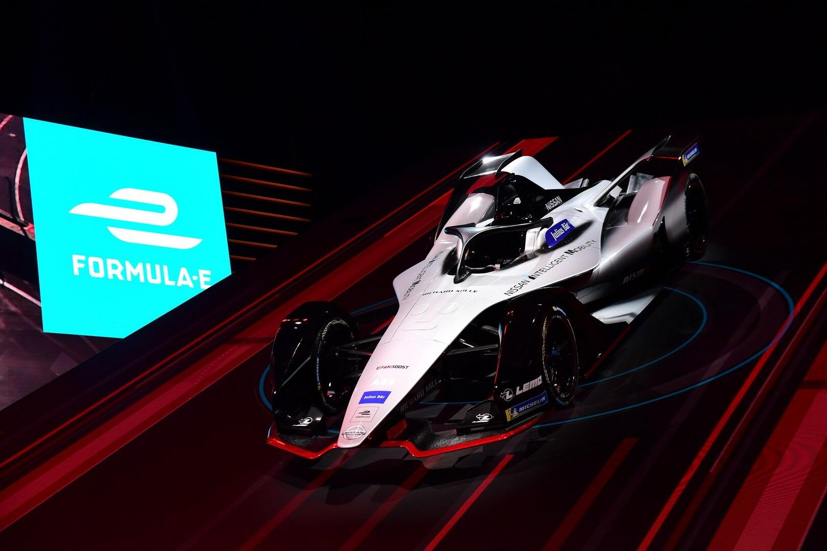 Концепт гоночного автомобиля Nissan для Formula E