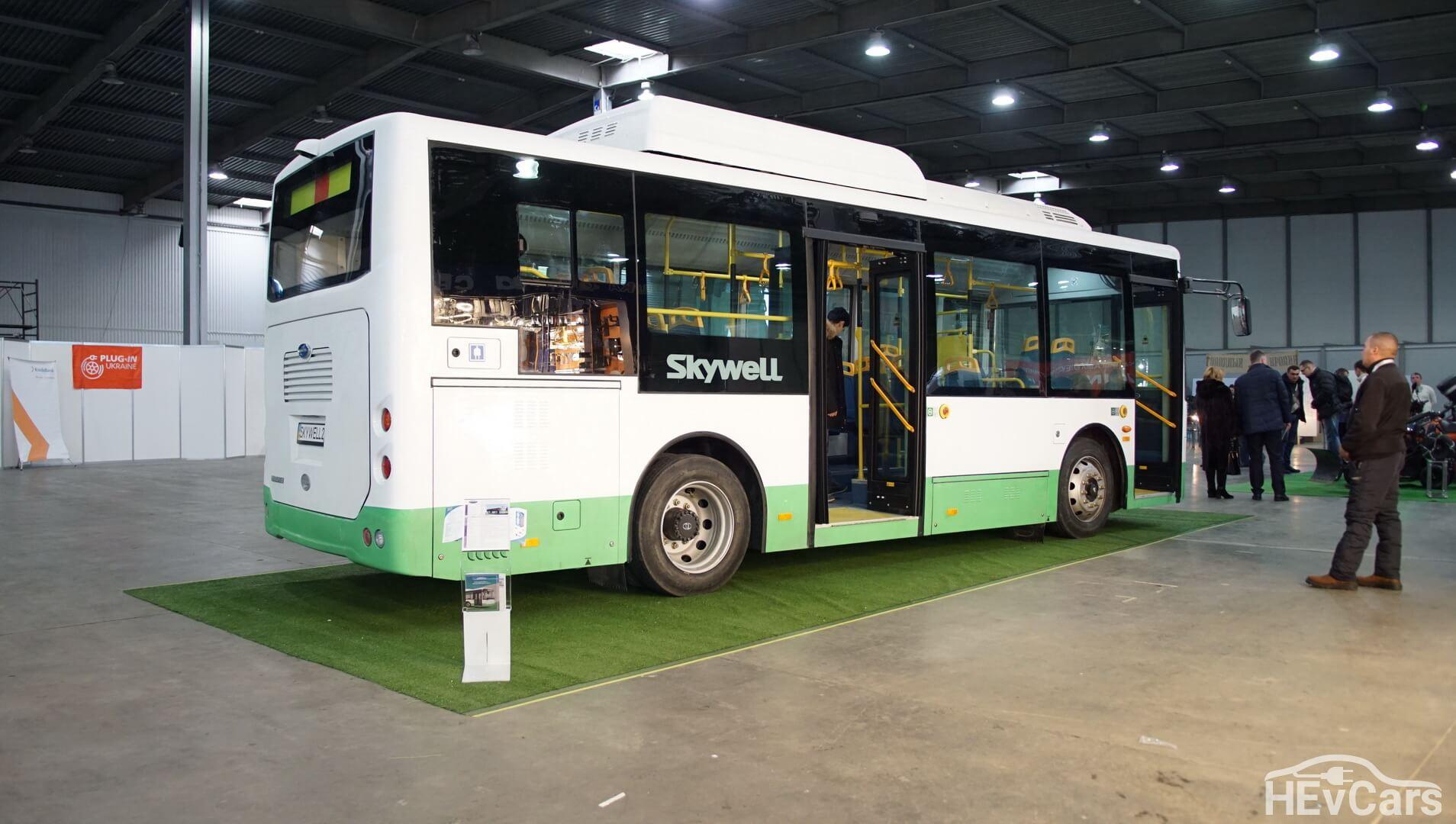 Электроавтобус Skywell NJL6859BEV