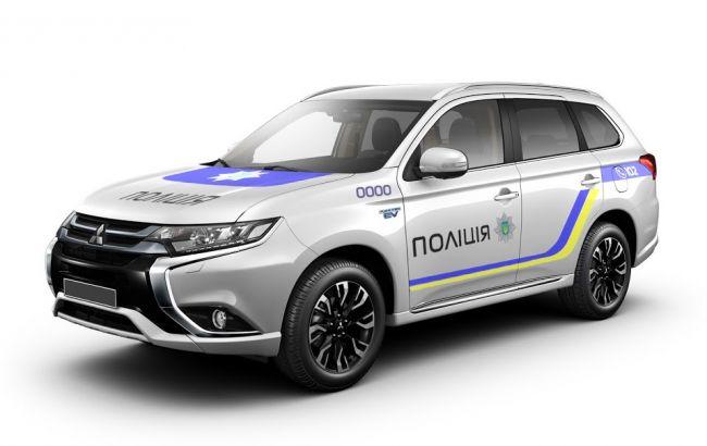 Mitsubishi Outlander PHEV Национальной полиции Украины