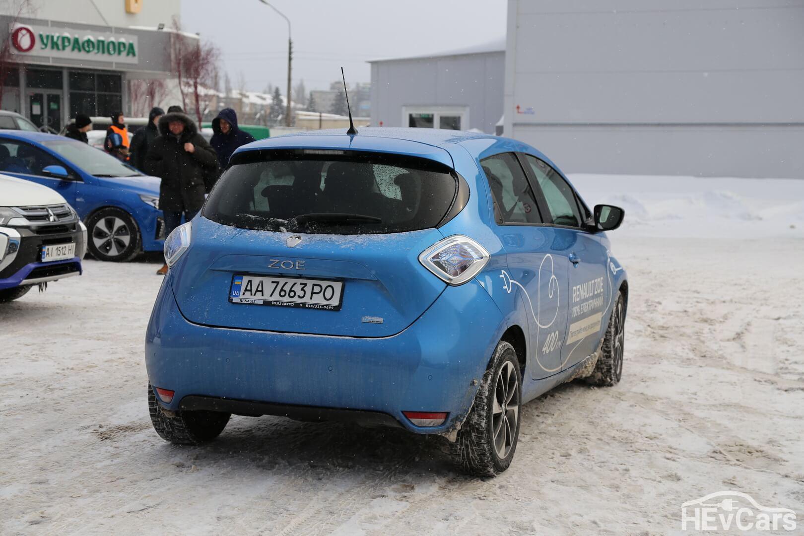 Тест-драйв электромобилей Renault ZOE