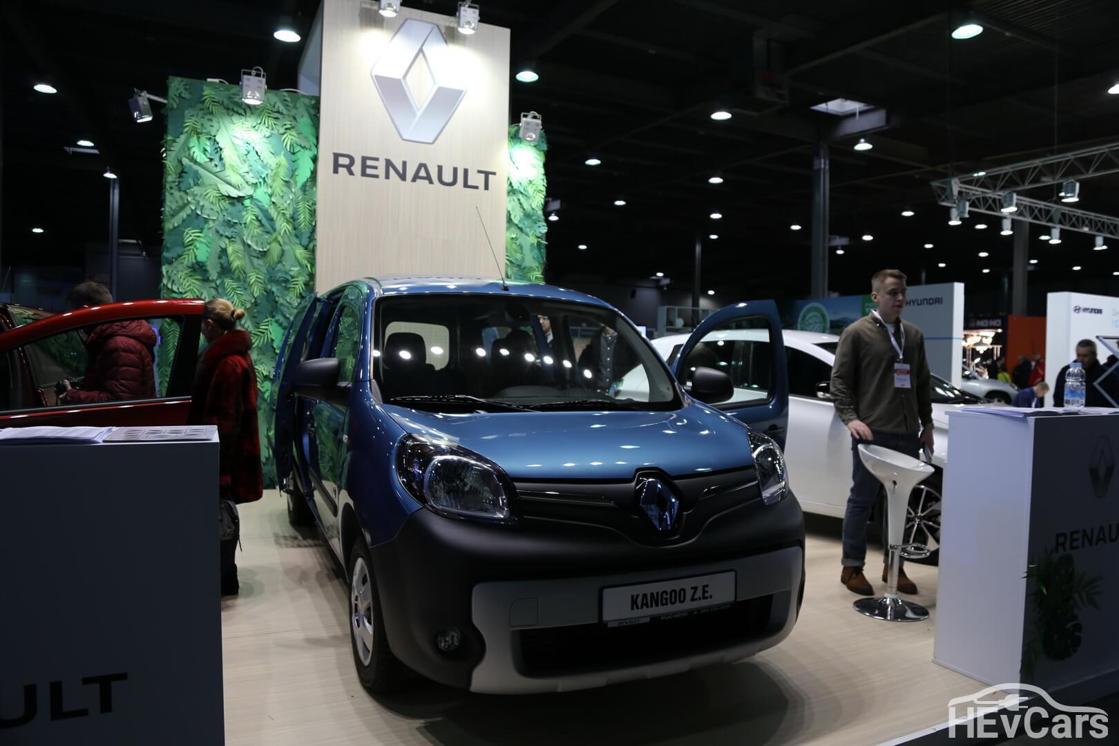 Электрический фургон Renault Kangoo Z.E.