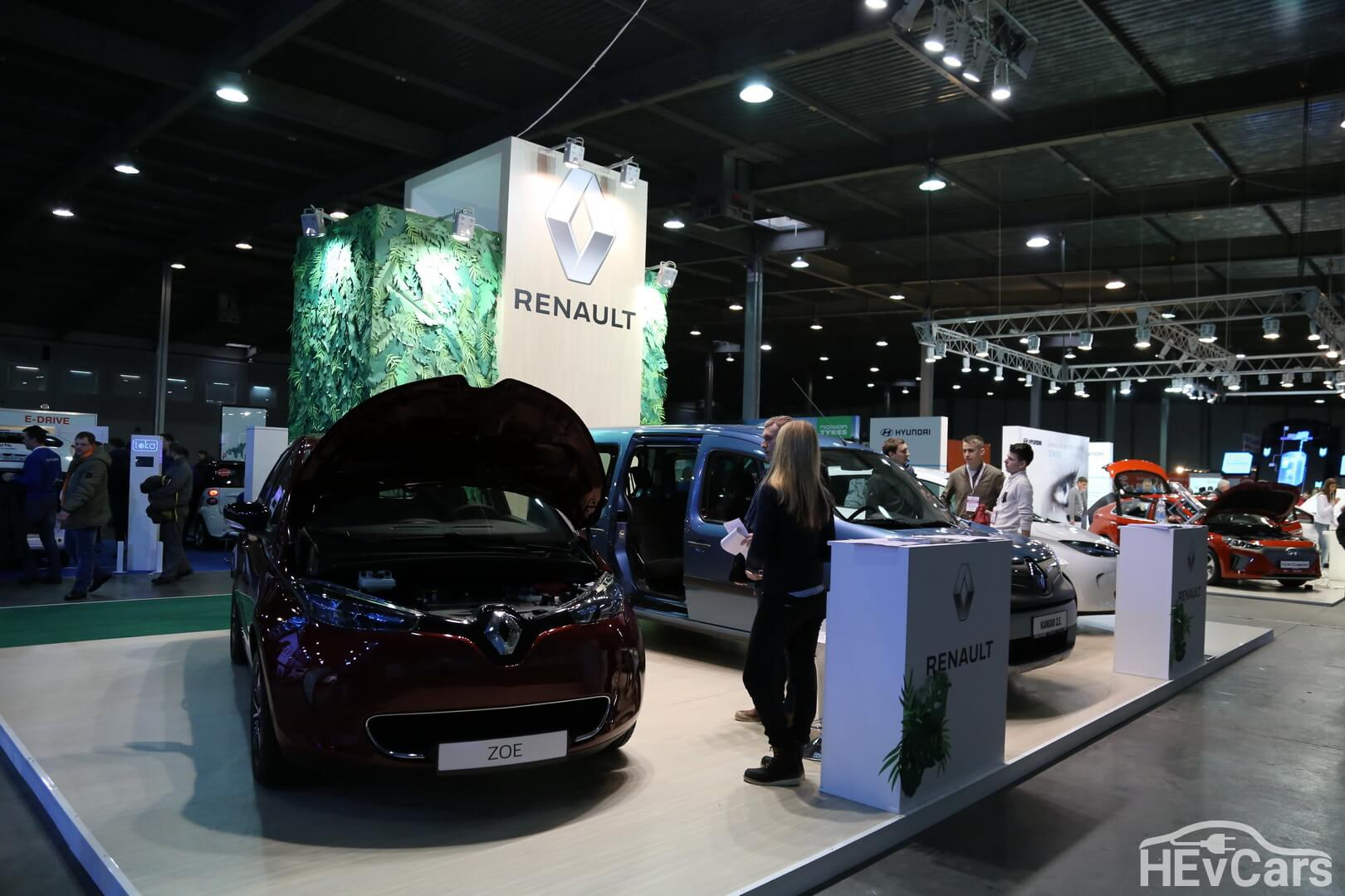 Стенд «Рено Украина» на выставке Plug-in Ukraine 2018