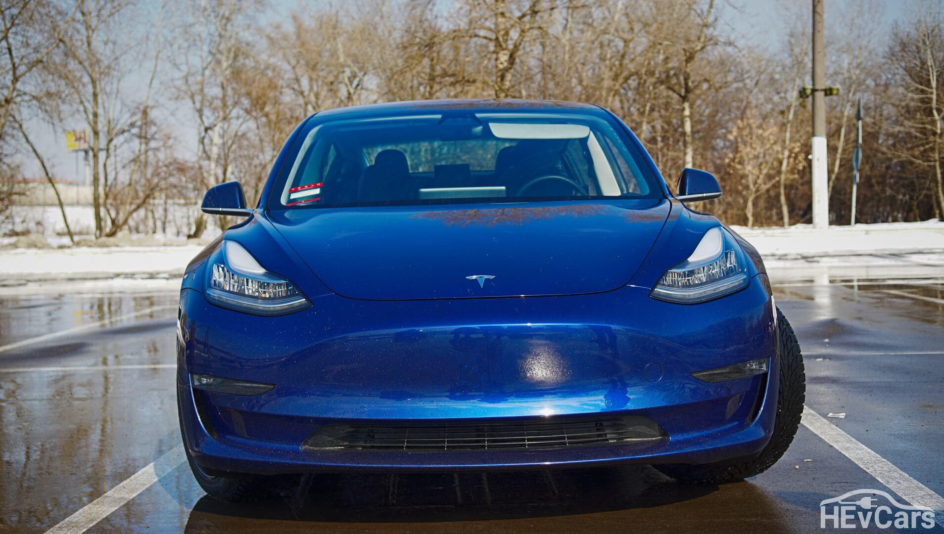 Tesla Model 3 с увеличенным запасом хода
