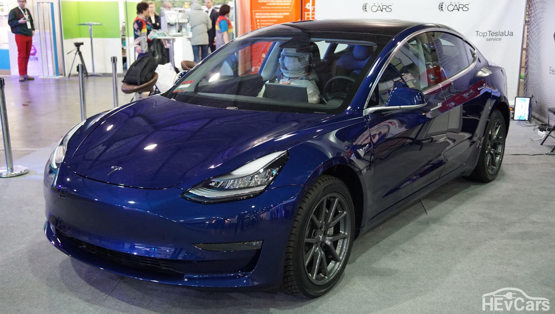 Экстерьер Tesla Model 3 — фото 2