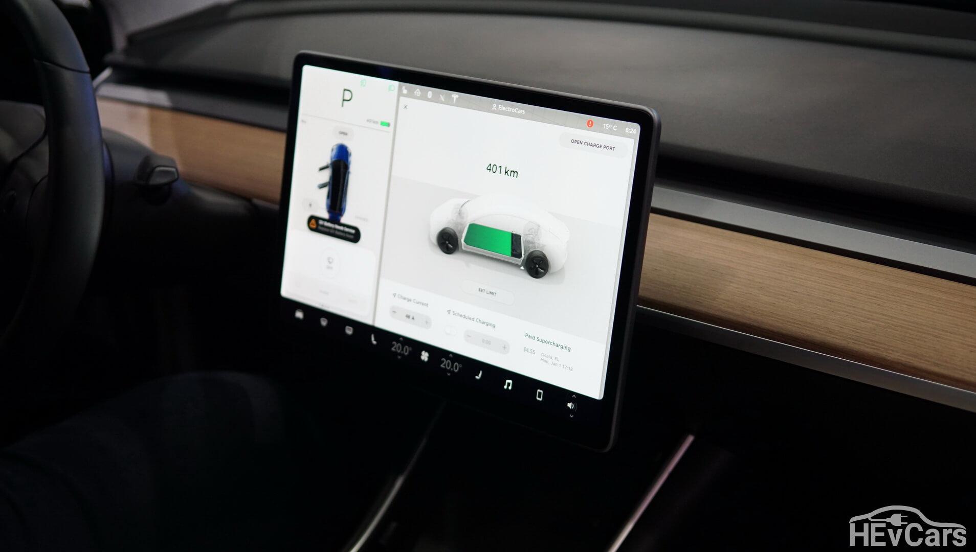 Интерьер Tesla Model 3 — фото 3