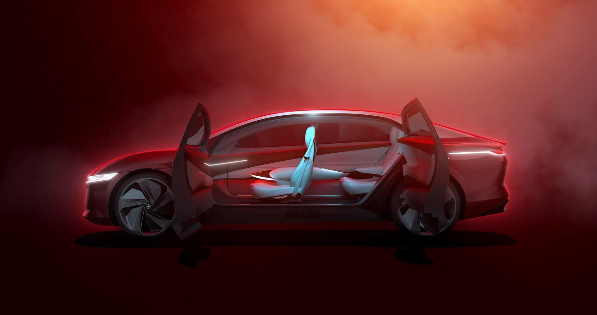 Фотография экоавто Volkswagen ID. VIZZION - фото 4