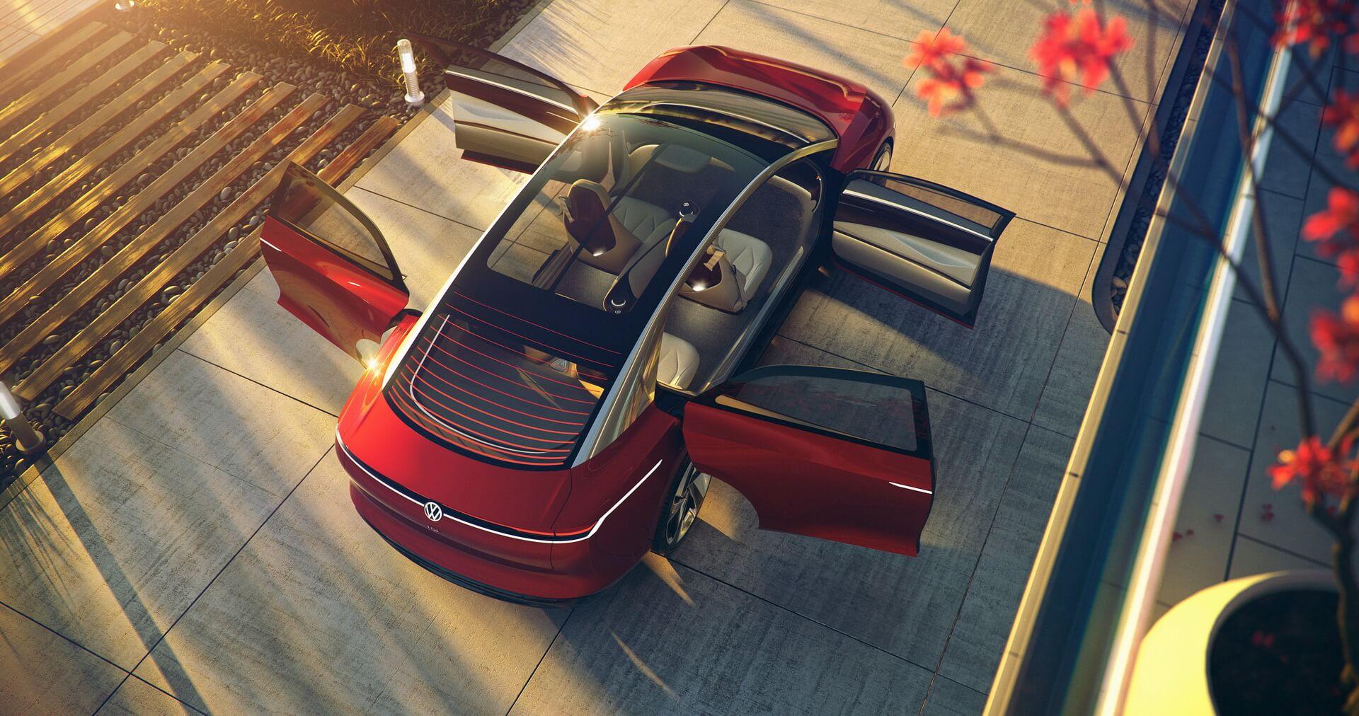 Фотография экоавто Volkswagen ID. VIZZION - фото 15