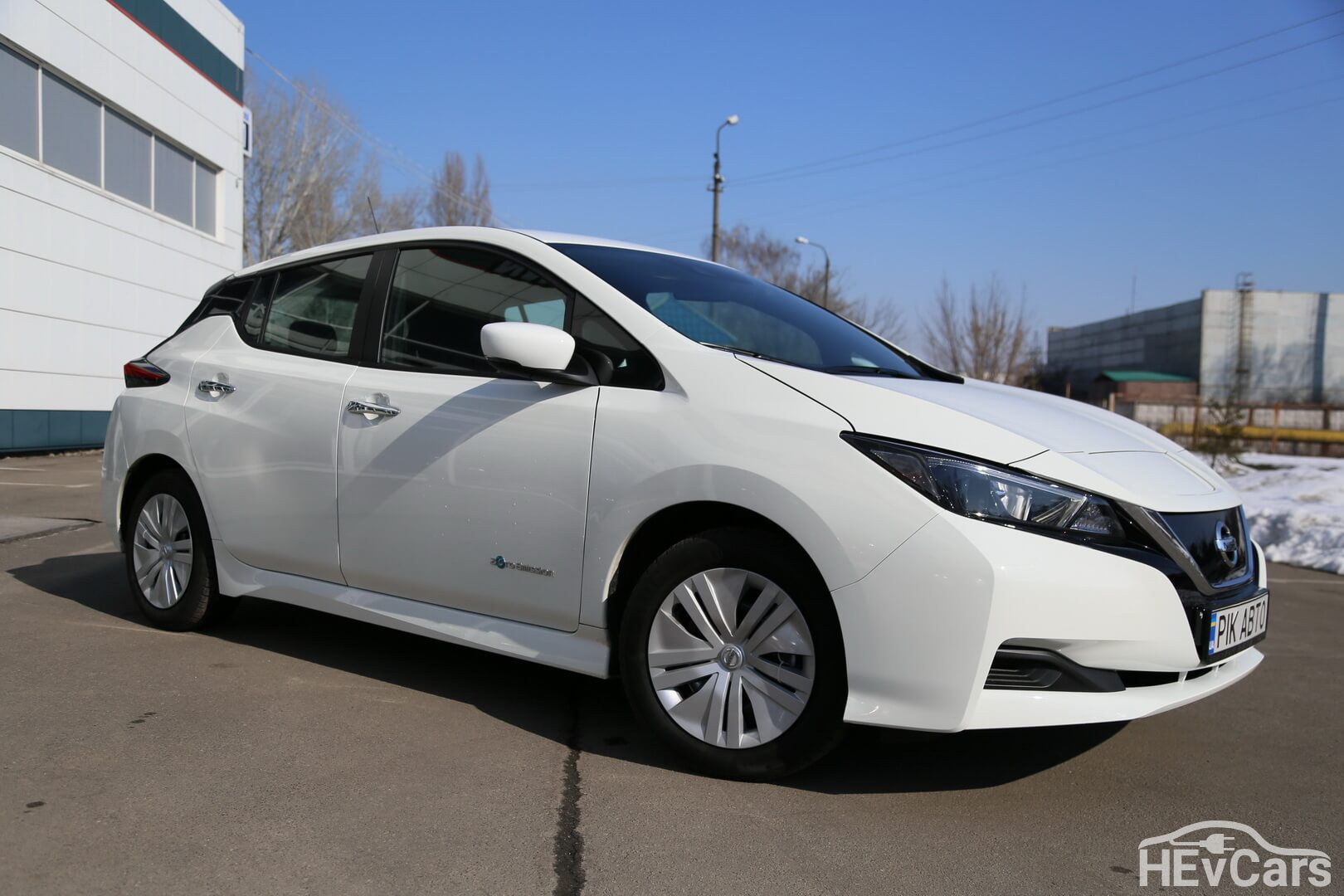 Nissan Leaf второго поколения (2017-2019)