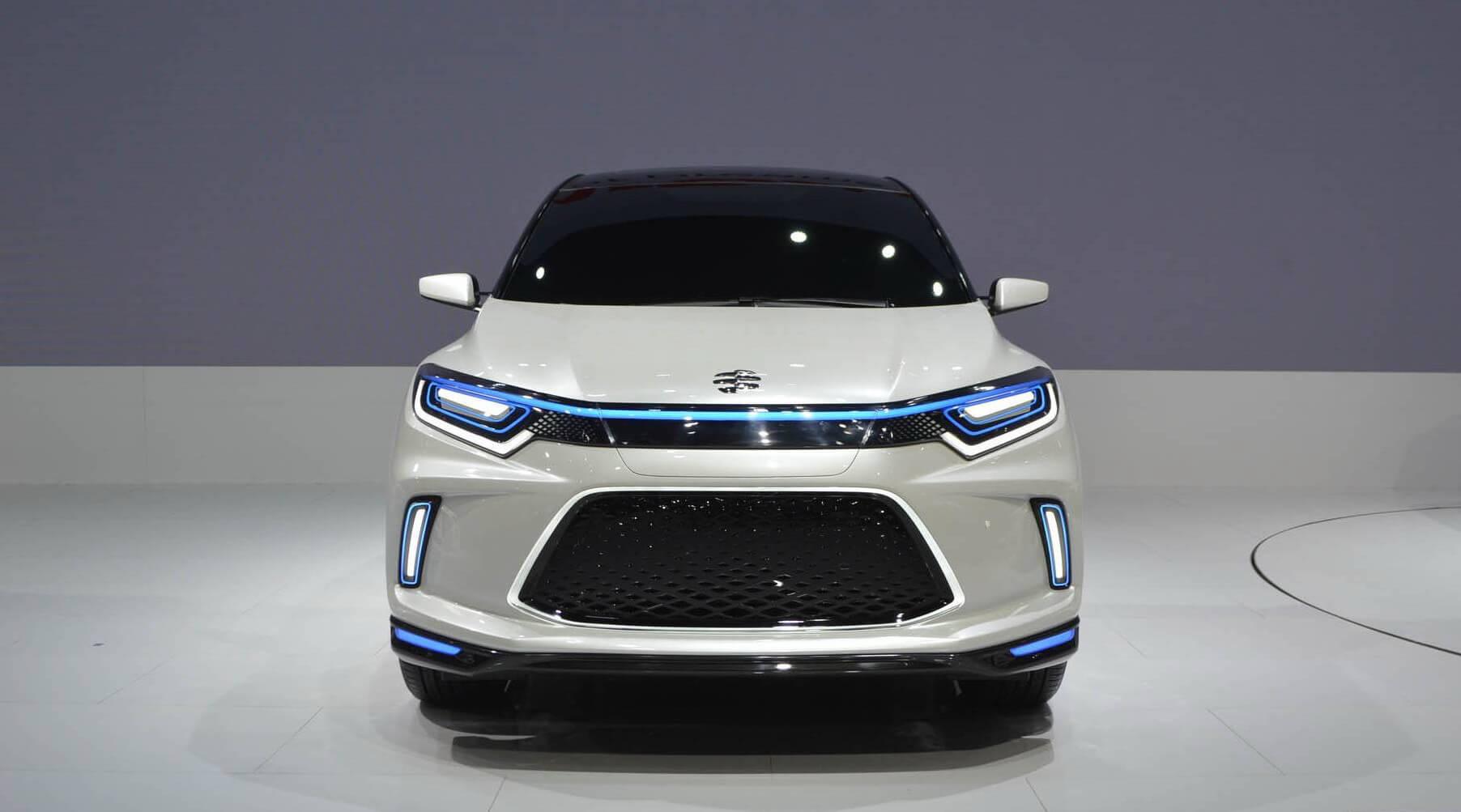Концептуальный электромобиль Everus EV Concept