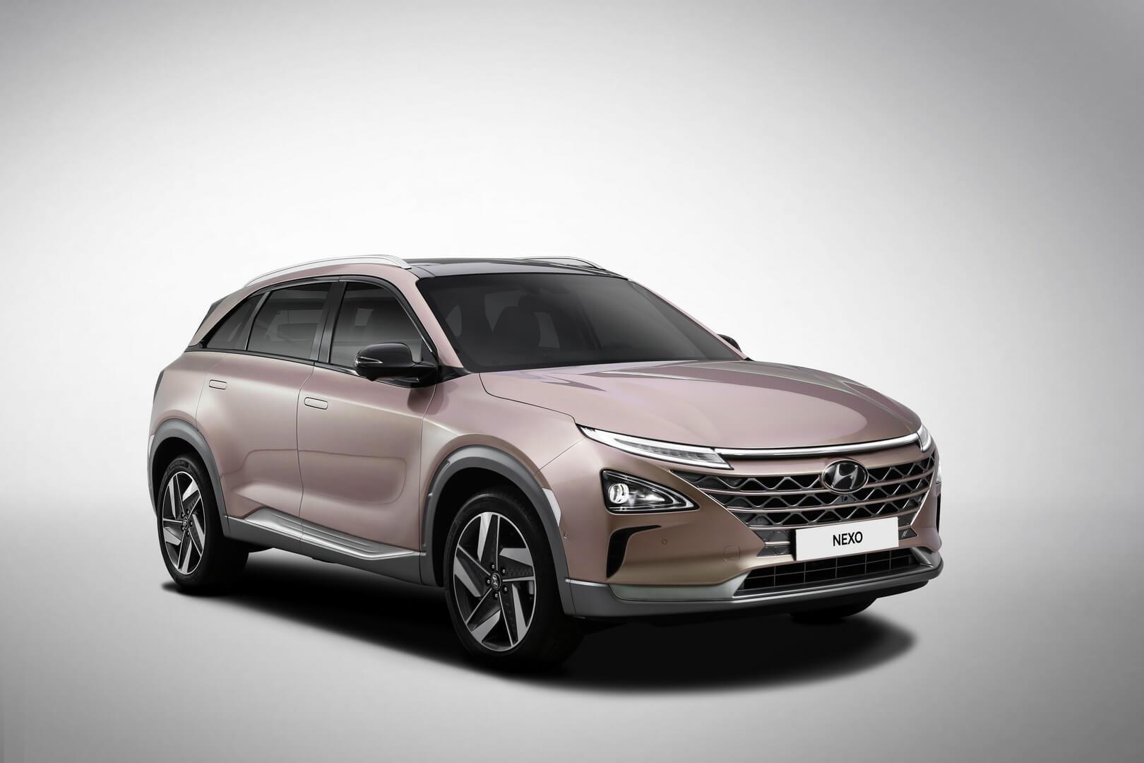 Водородный автомобиль Hyundai NEXO