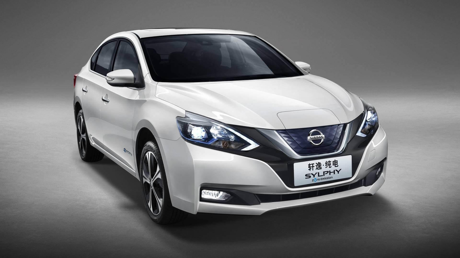 Nissan Sylphy Zero Emission базе Leaf для китайского рынка