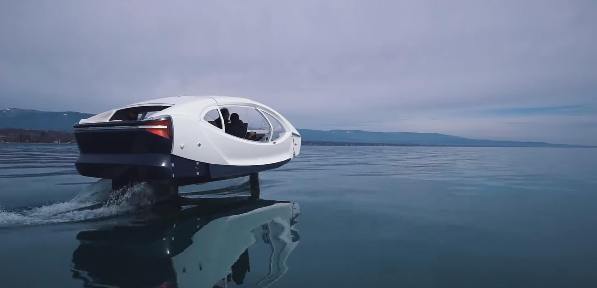 Водный электромобиль SeaBubbles