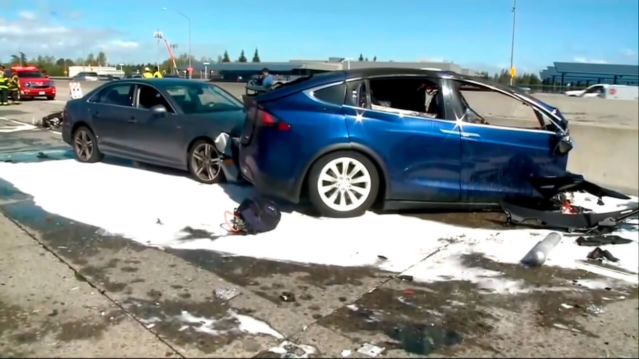 Смертельная авария с Tesla на автопилоте