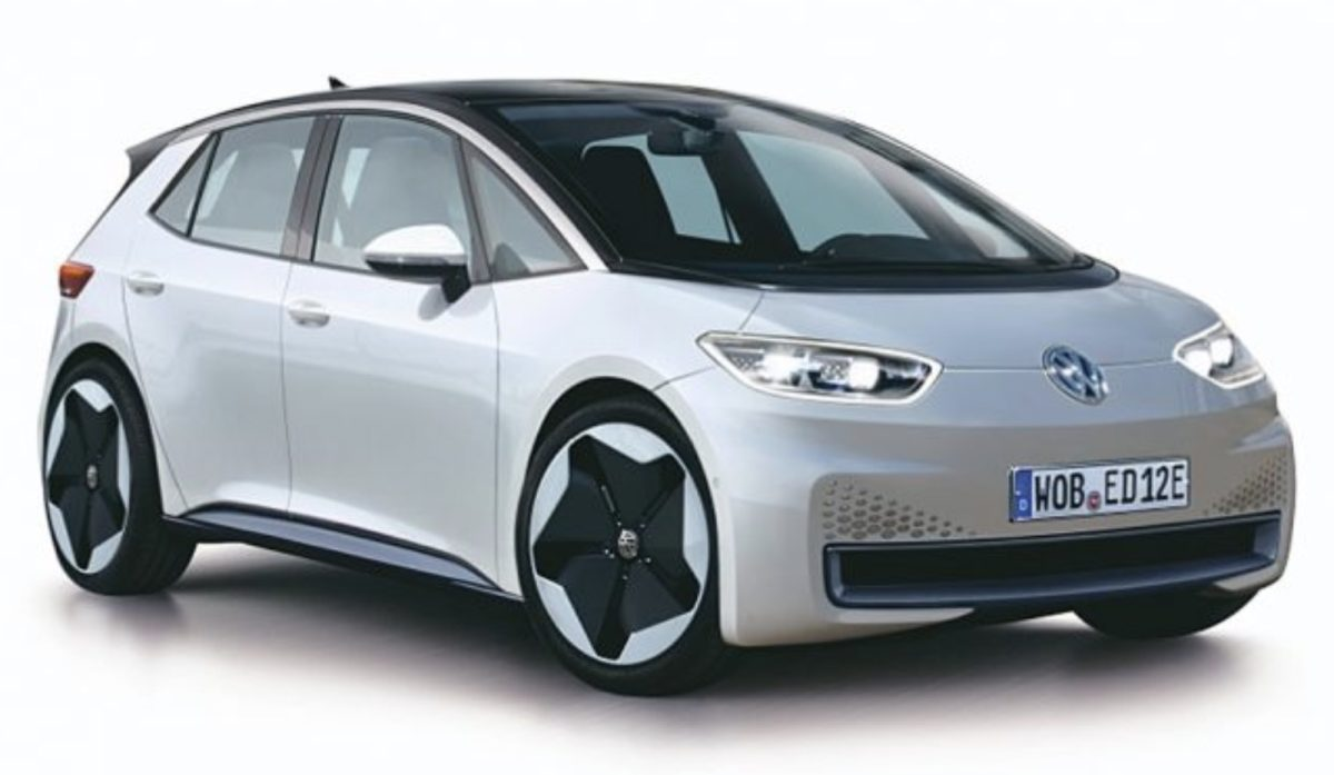 Первым запланированным квыходу электромобилем серииI.D. является Volkswagen Neo