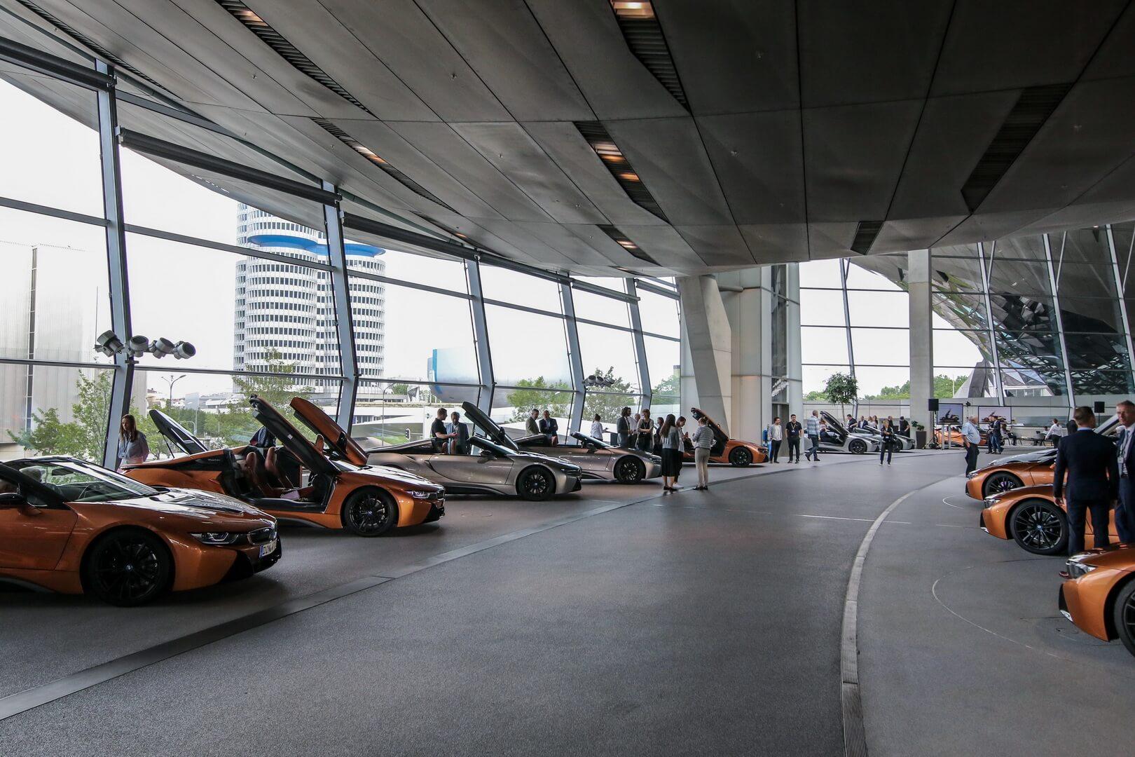 BMW i8 Roadster First Edition для членов клуба BMW i8 Club