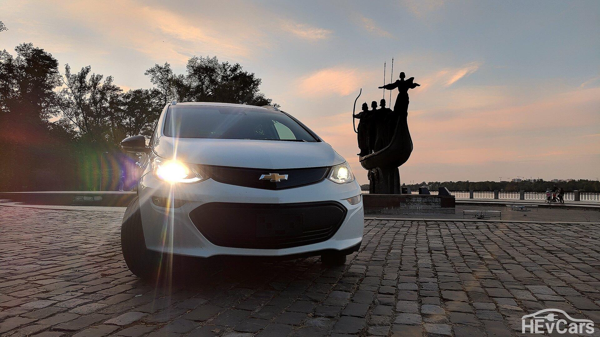 Первый Chevrolet Bolt Premier EV в Украине
