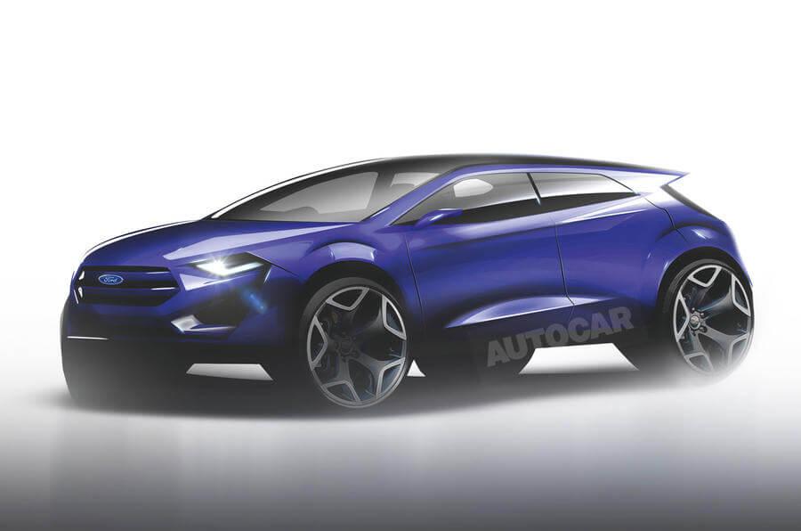 Предполагаемый дизайн электромобиля Ford Mach 1