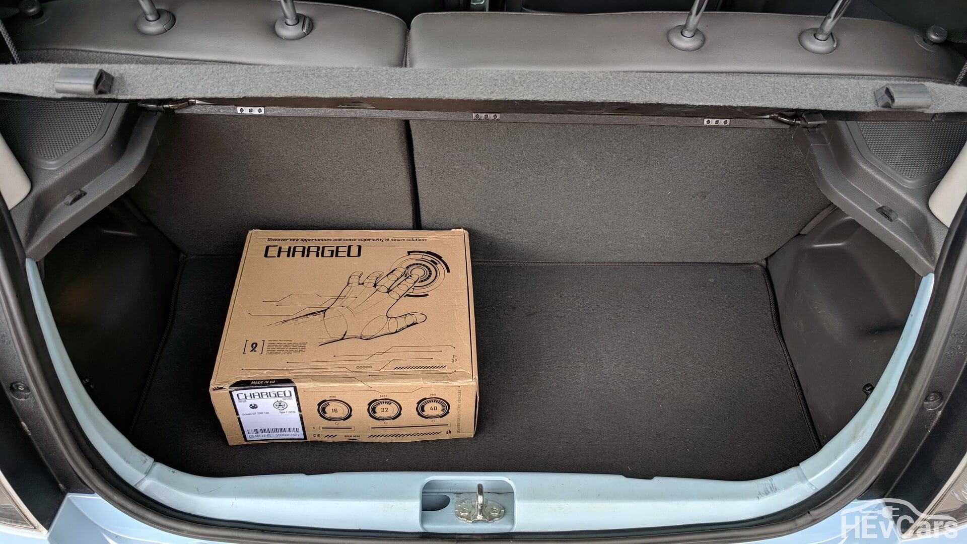 Багажник в Chevrolet Spark EV
