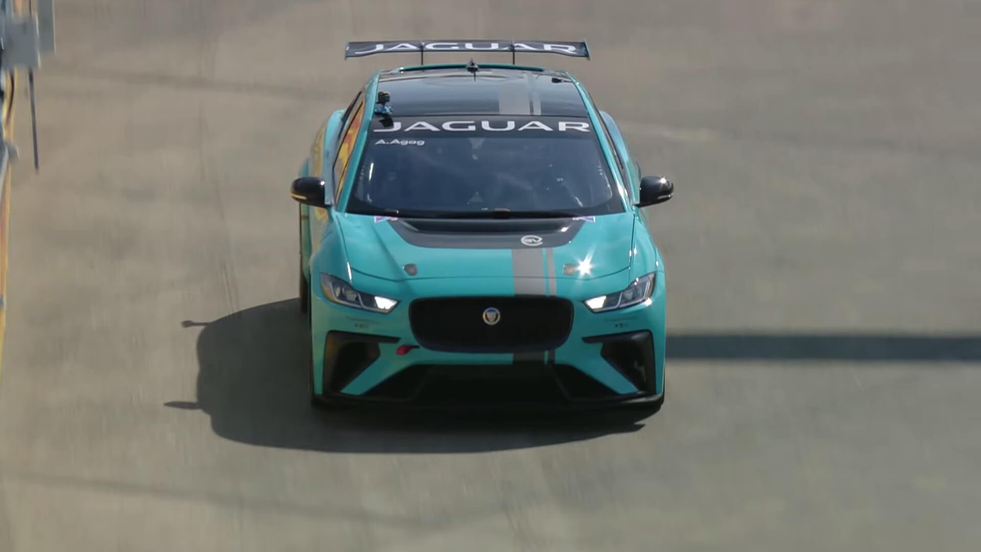 Jaguar I-Pace eTROPHY на трассе Formula E в Берлине