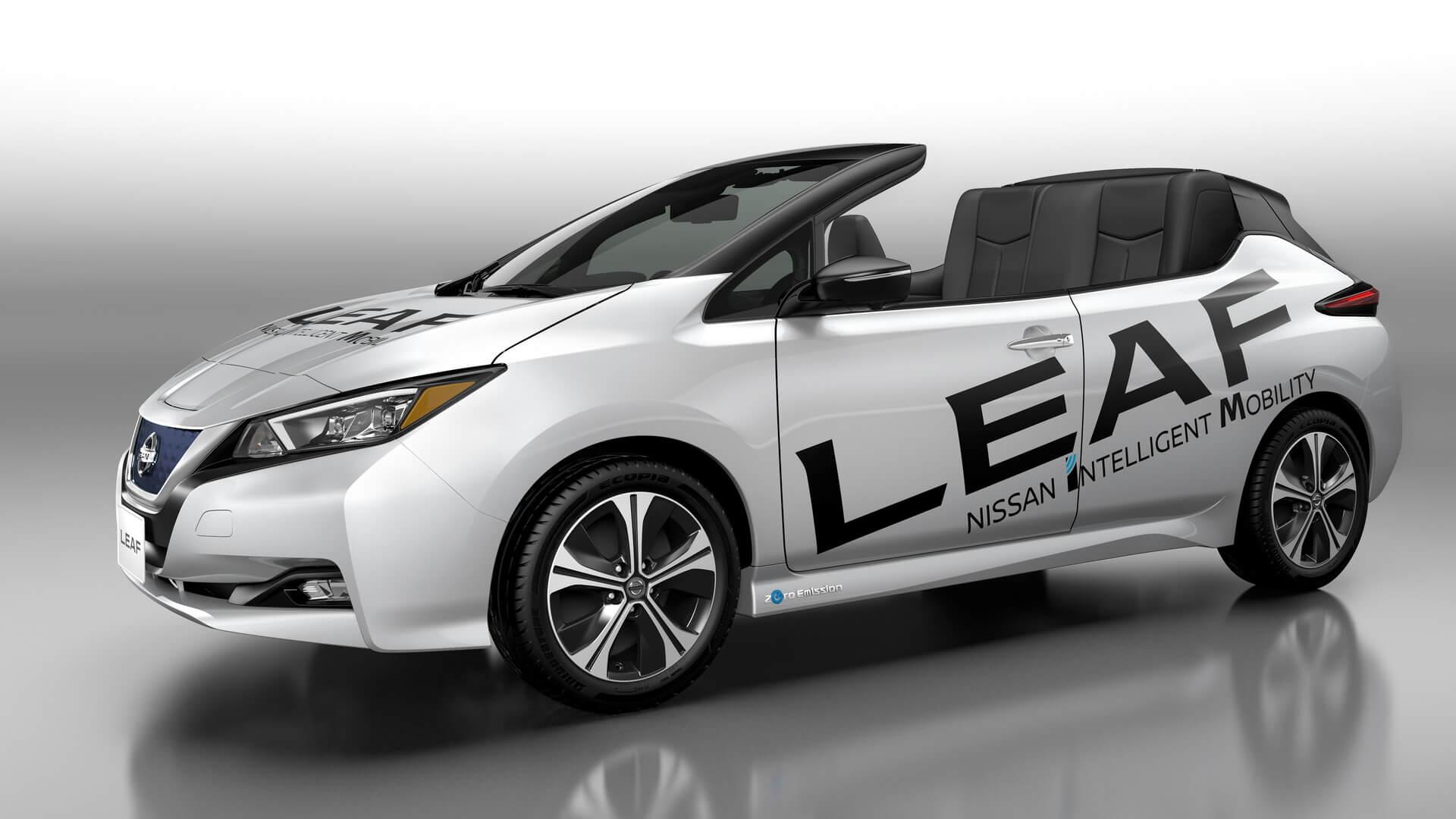 Кабриолет Nissan Leaf второго поколения